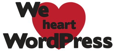 We Heart WordPress